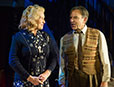 Liza Goddard and Brian Capron in The Smallest Show on Earth (photo credit Alastair Muir)